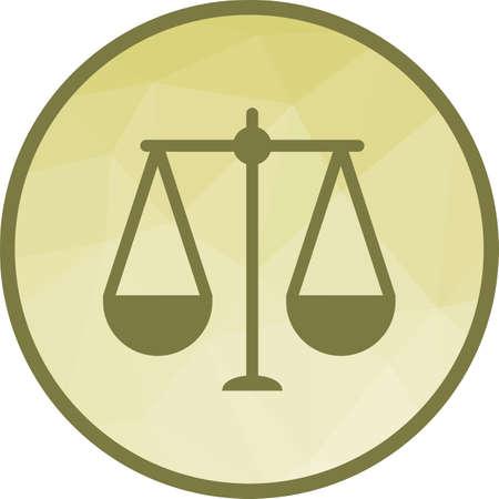Balance, scale, law Illustration