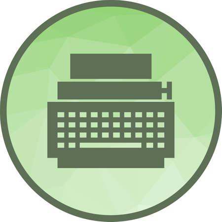 Typewriter, writing, letter