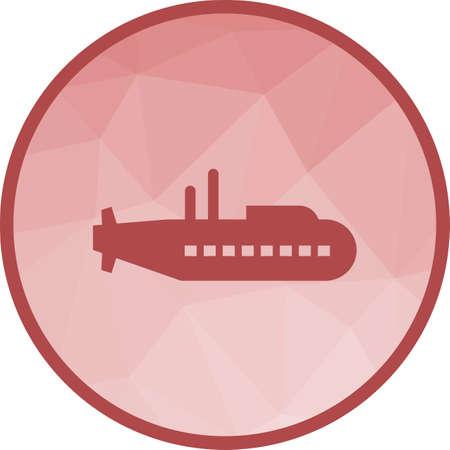 Sous-marin, bateau, mer