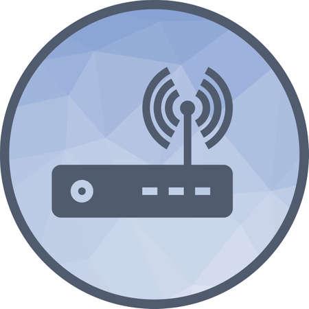 Router, modem hardware Illustration