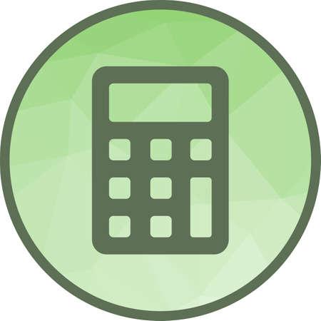 Calculator, sum, subtract Stock Illustratie