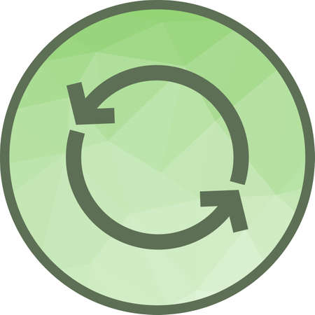 Sync, Reload, update Ilustração