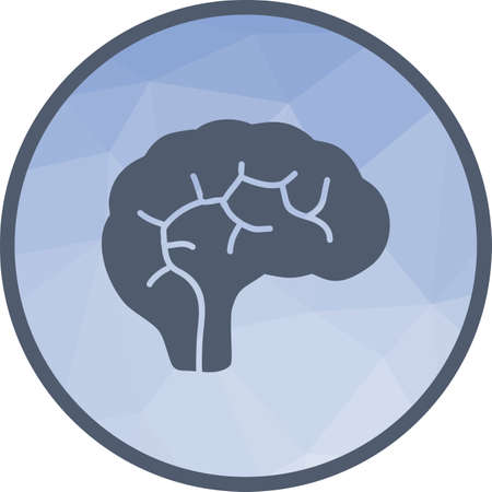 Human Brain Icon Stock Vector - 103357328
