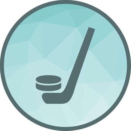 Hockey, ball,stick sports Stock Illustratie