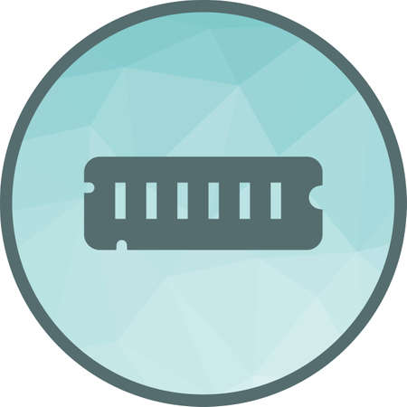 Computer RAM Icon
