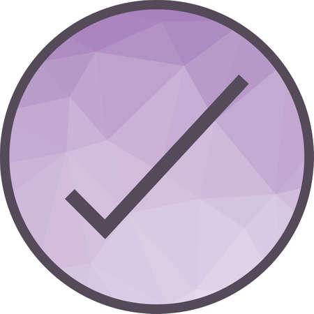 Tick, List Icon