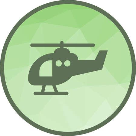 Helicopter, travel, transportation Illustration