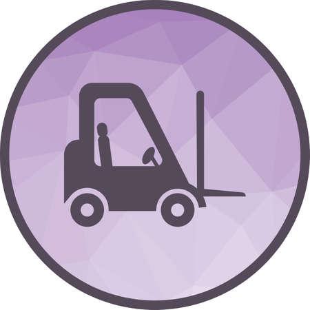 Lifter Truck icon Illustration