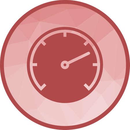 Speedometer, car, speed