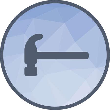 Hammer, tool, hardware Illustration