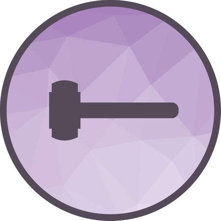 Sledge hammer Icon Ilustração