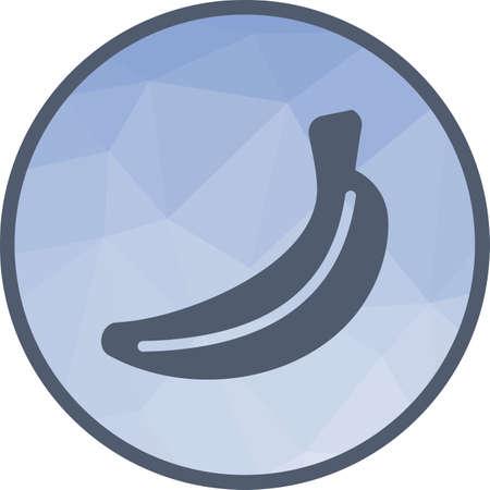 Bananas, fresh icon Ilustração