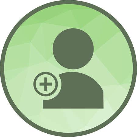 Create User Icon Illustration