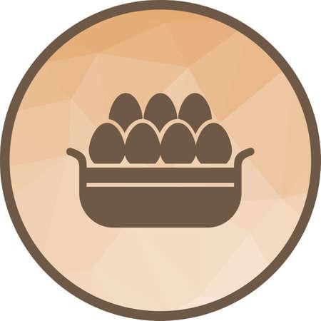 Eggs Basket I Ilustração