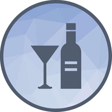 Champagne, drink, bottle 向量圖像