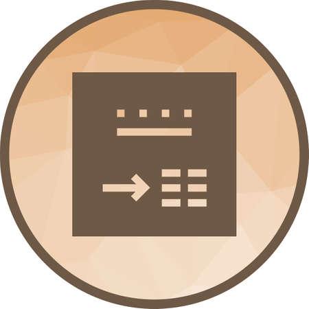 Internet Search Icon Illustration