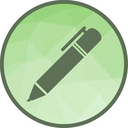 Markers, pen, highlight 向量圖像