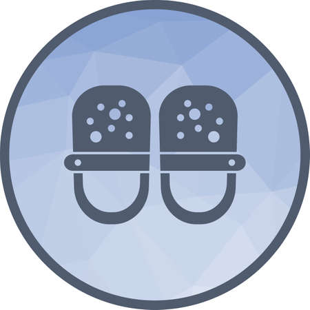 Baby Shoes Icon Stock Vector - 104101512