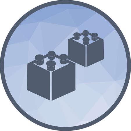 Blocks I Icon Ilustração