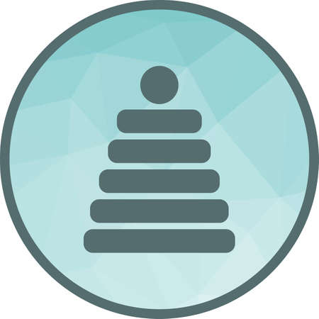 Stack Toy Icon