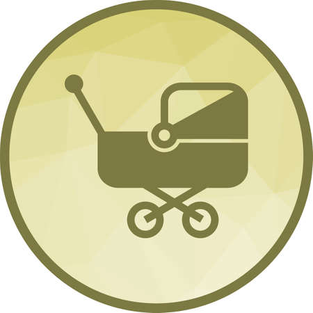 Stroller I Icon Illustration