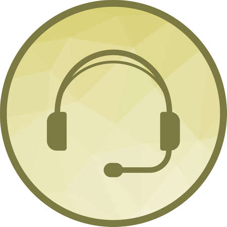 Headphones, playing, listening