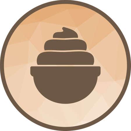 Whip Cream Icon