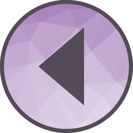 Triangle Arrow Left