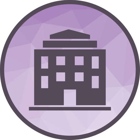 University, conference, students icon vector image.Can also be used for building and landmarks . Suitable for mobile apps, web apps and print media. 矢量图像