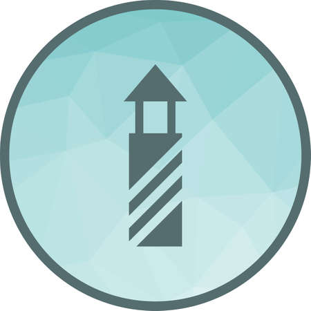 Lighthouse, light, beacon icon vector image.Can also be used for building and landmarks . Suitable for mobile apps, web apps and print media. 矢量图像
