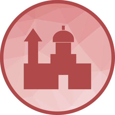 Saint, pauls, cathedral icon vector image.Can also be used for building and landmarks .Suitable for mobile apps, web apps and print media.