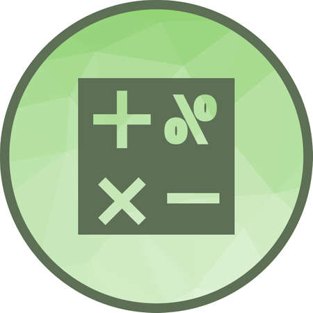 Formula, mathematical, science icon vector image.Can also be used for education and science. Suitable for web apps, mobile apps and print media.