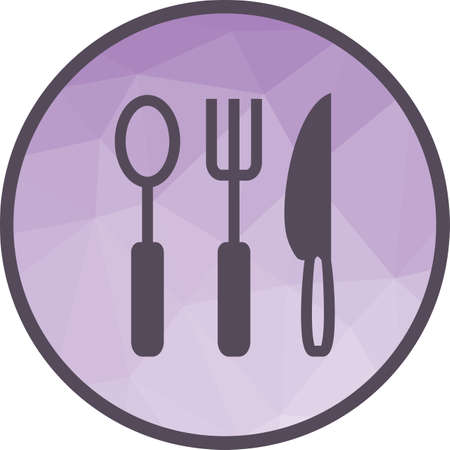 Spoon, tea spoon, kitchenware icon vector image. Can also be used for food iconset. Suitable for use on web apps, mobile apps and print media Illusztráció