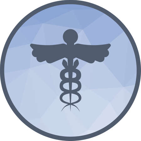 Medical Sign I icon Foto de archivo - 104486980