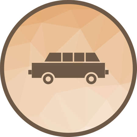 Limousine, car, long icon vector image. Can also be used for party. Suitable for web apps, mobile apps and print media.