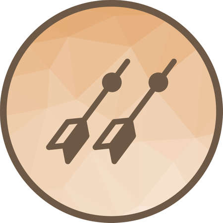 Dart, board, target icon vector image. Can also be used for fitness and sports. Suitable for web apps, mobile apps and print media.