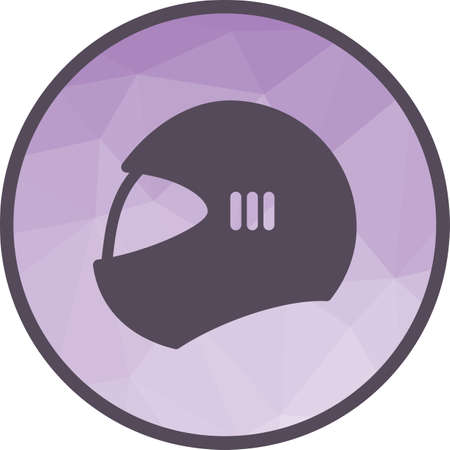 Cricket, helmet, player icon vector image. Can also be used for fitness and sports. Suitable for web apps, mobile apps and print media.