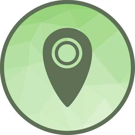 Location, plan, area icon vector image.Can also be used for camping. Suitable for mobile apps, web apps and print media.
