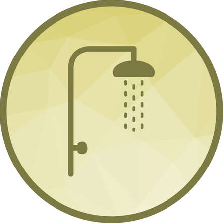Shower, hair, bath icon vector image. Can also be used for camping. Suitable for use on web apps, mobile apps and print media.