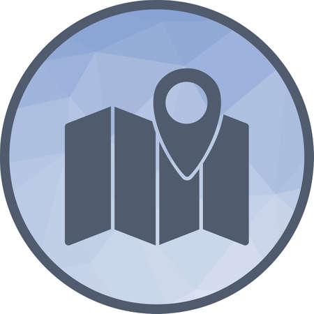 Maps, location, area  icon