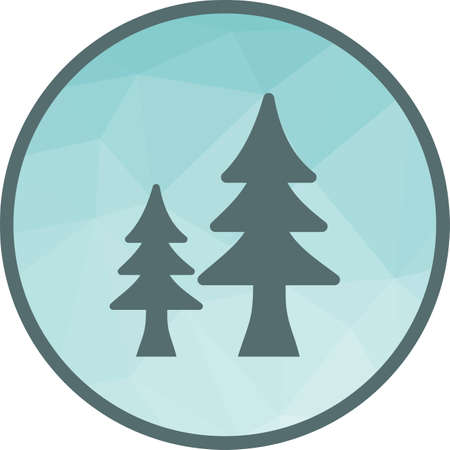Tree, nature, trees icon vector image.Can also be used for camping. Suitable for mobile apps, web apps and print media.