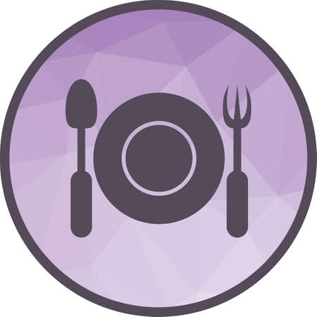 Meal, chicken, dining icon vector image. Can also be used for camping. Suitable for web apps, mobile apps and print media.  イラスト・ベクター素材