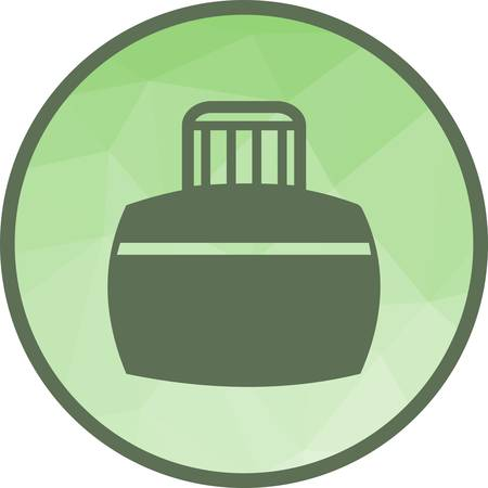 Ink, bottle, pen icon vector image. Can also be used for office. Suitable for web apps, mobile apps and print media.