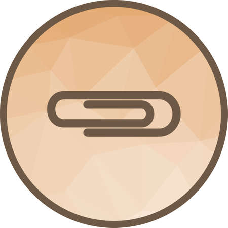 Pin, thumbtack, clip icon vector image. Can also be used for office. Suitable for use on web apps, mobile apps and print media.  イラスト・ベクター素材