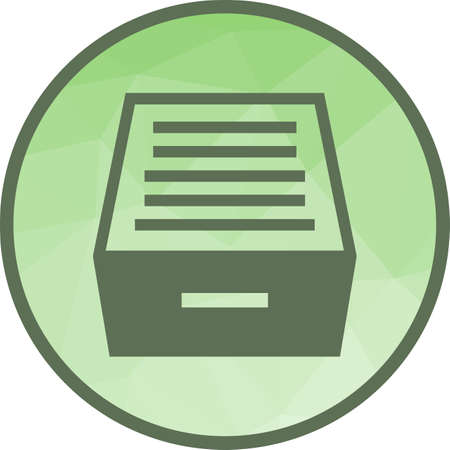 Files, drawer, office icon vector image.Can also be used for office. Suitable for mobile apps, web apps and print media.