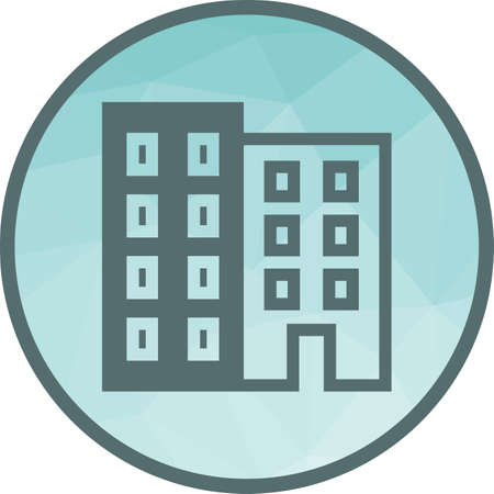 Building, business, office icon vector image.Can also be used for office. Suitable for mobile apps, web apps and print media.