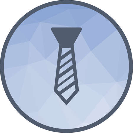 Tie, office, necktie icon vector image. Can also be used for office. Suitable for web apps, mobile apps and print media.