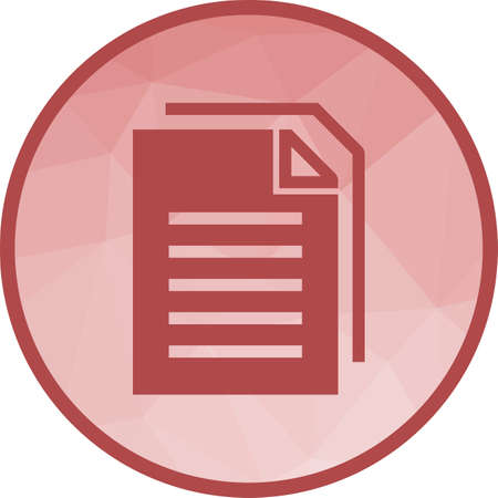 Legal, document, office icon vector image.Can also be used for office. Suitable for mobile apps, web apps and print media.  イラスト・ベクター素材