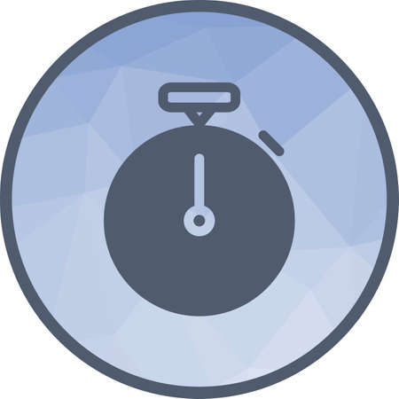 Stopwatch, watch, timer icon vector image. Can also be used for office. Suitable for web apps, mobile apps and print media.
