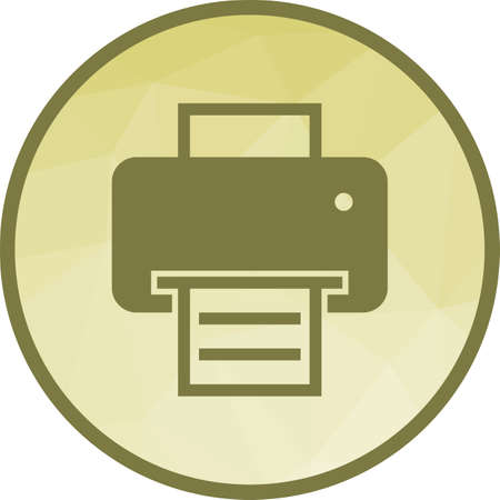 Printer, office, equipment icon vector image. Can also be used for office. Suitable for mobile apps, web apps and print media.  イラスト・ベクター素材